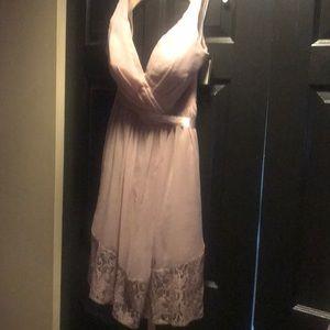 Impressions knee length bridesmaid dress